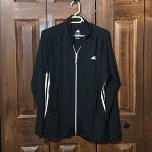 Adidas Black zip up